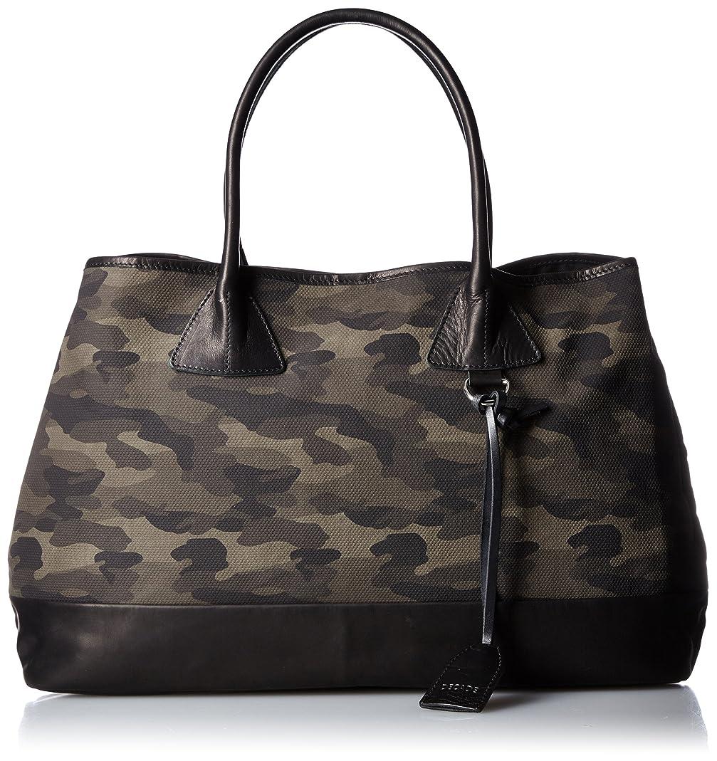 動機付ける足枷比較[ディケイド] DECADE コーティングキャンパス×cow leather トートバッグ