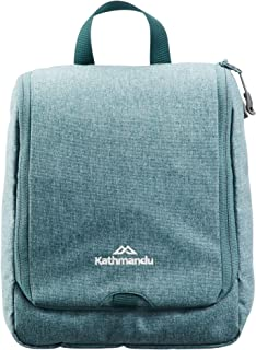 Kathmandu Kit Classic Hanging Toiletry Bag Wash Travel Make Up Organiser Cedar Marle ONE