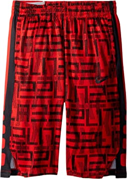 Nike Kids - Dry Elite Stripe Print Basketball Short (Little Kids/Big Kids)