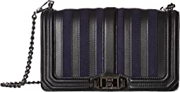Rebecca Minkoff - Stripe Love Crossbody