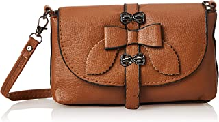 SHADOW Women's PU Leather Crossbody Sling Bag Phone Bag Mini Messenger Shoulder Travel Fashion Handbag Purse, Peru
