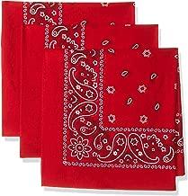 mens red handkerchief