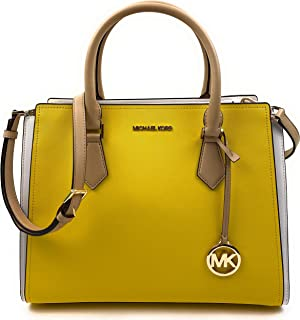 Michael Kors Womens Hope Large Satchel Crossbody Bag