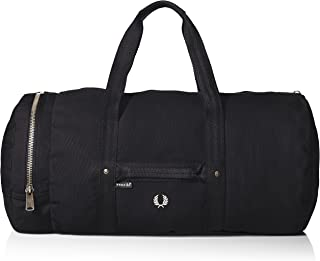 Fred Perry Men's Ventile Canvas Duffle Bag