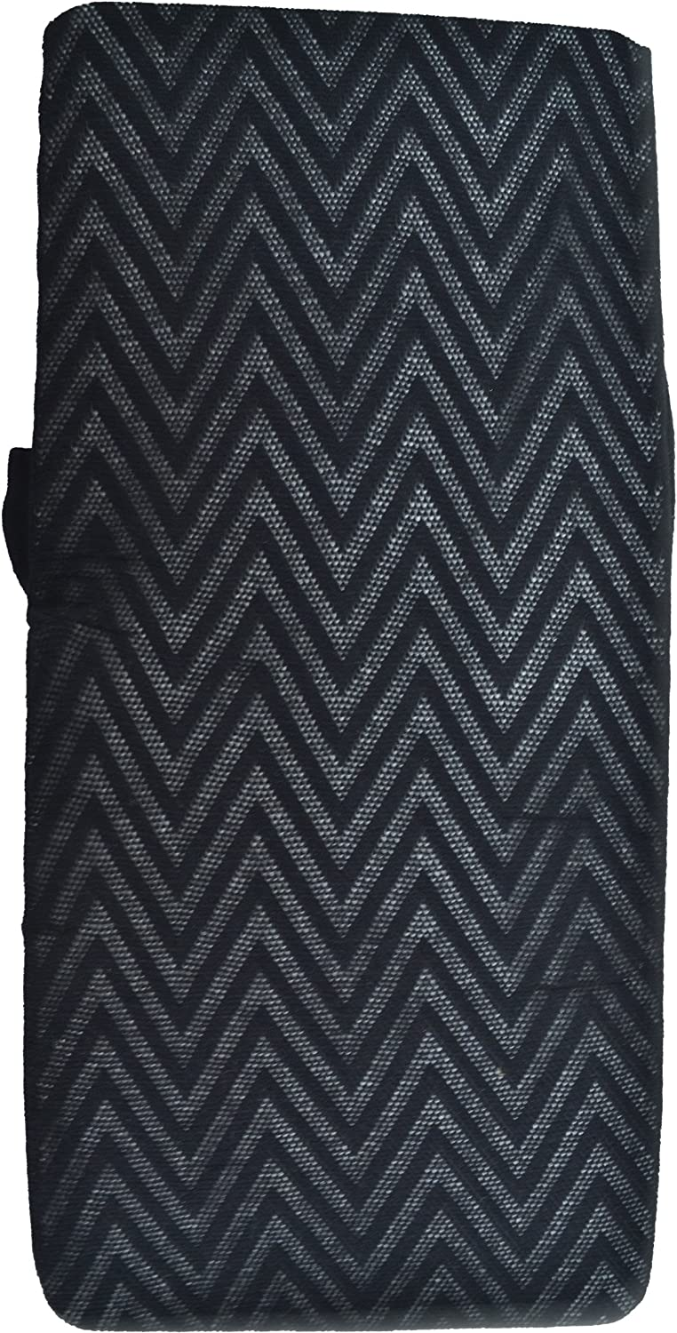 Vince Camuto Womens Tights Black Zig Zag Med Large