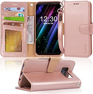 ef7b411f8130 Amazon.com  Samsung Galaxy S 8 Plus - Flip Cases   Cases