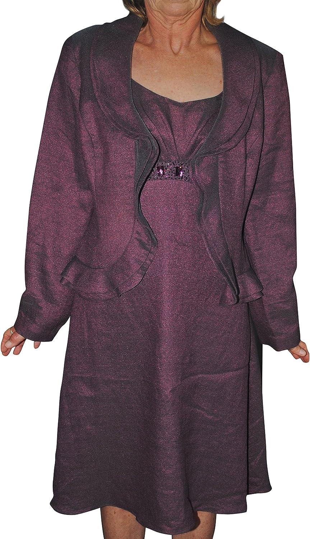 Patra Women's Embellished 2 Piece Dress Suit Set Size 12