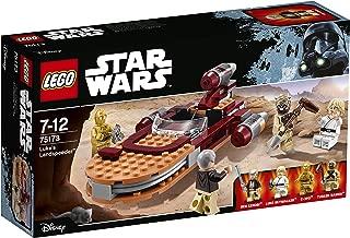 luke skywalker landspeeder lego