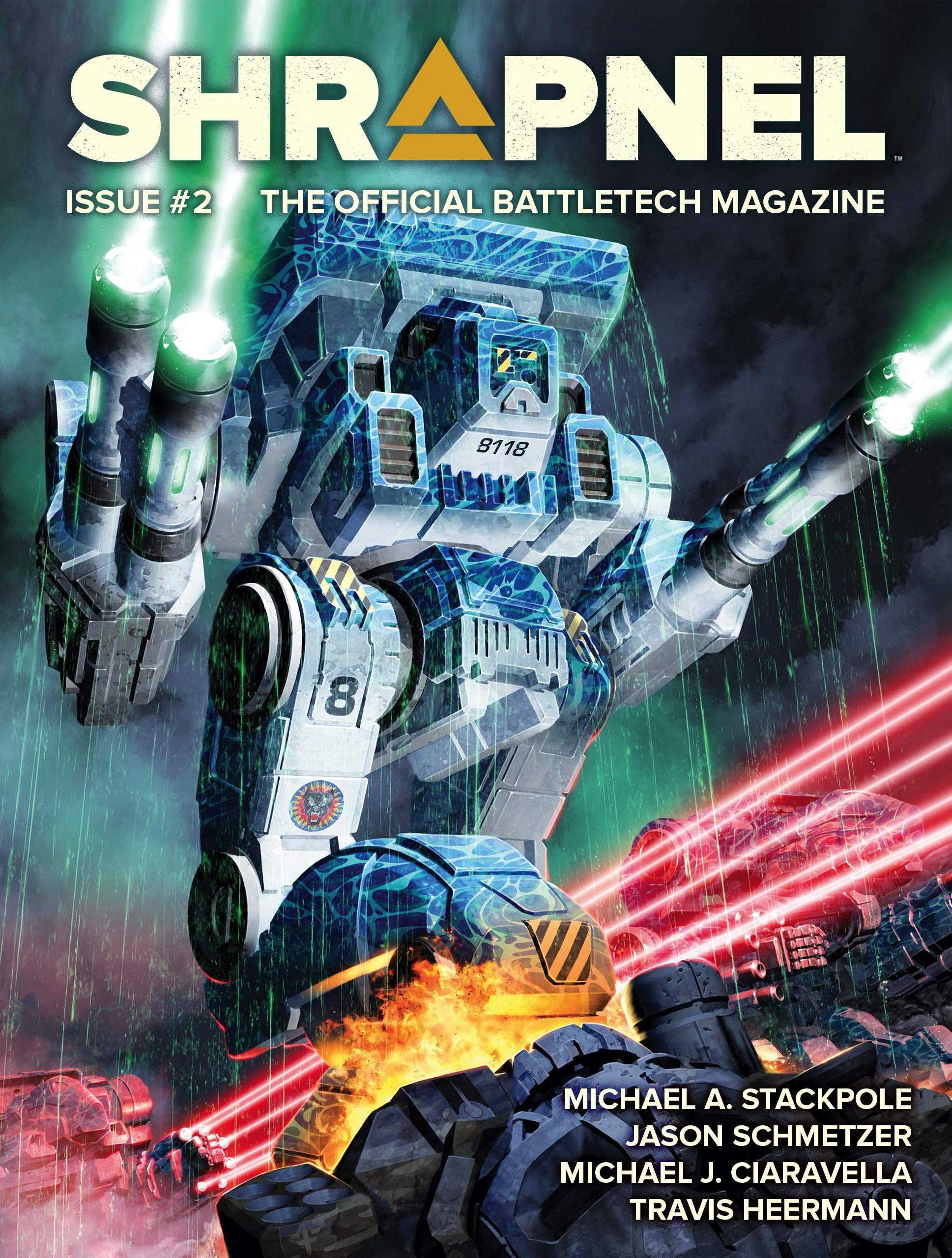 BattleTech: Shrapnel Issue #2 (BattleTech Magazine)