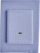 Lacoste Advantage Easy Care 4-Piece Sheet Set, Queen, Golf Slate Blue
