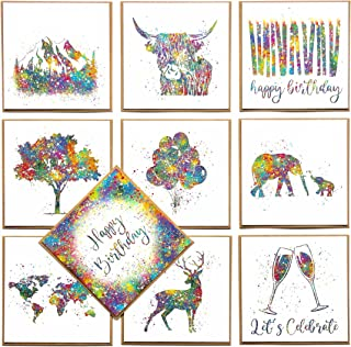Premium Eco Friendly Greetings Cards Multipack   100% Recycled   100% Recyclable   Designed, Printed and Packaged in the U...