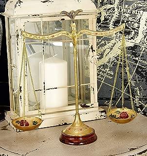 Deco 79 30651 Brass Scale, 12