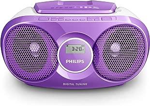 DUAL Radio avec CD /• Radio num/érique /• Radio FM /• Boombox /• Lecteur CD /• Haut-Parleur st/ér/éo /• Entr/ée AUX /• Port USB /• Fonctionne sur Secteur//Batterie /• Portable /• Gris Dab-P 160