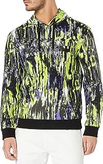 Armani Exchange Men's Truffle/Acid Lime Ty Sweatshirt