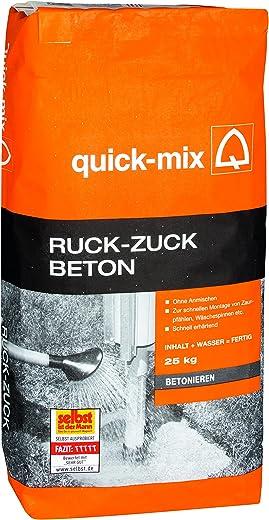 Quick Mix Ruck Zuck-Beton 25 kg