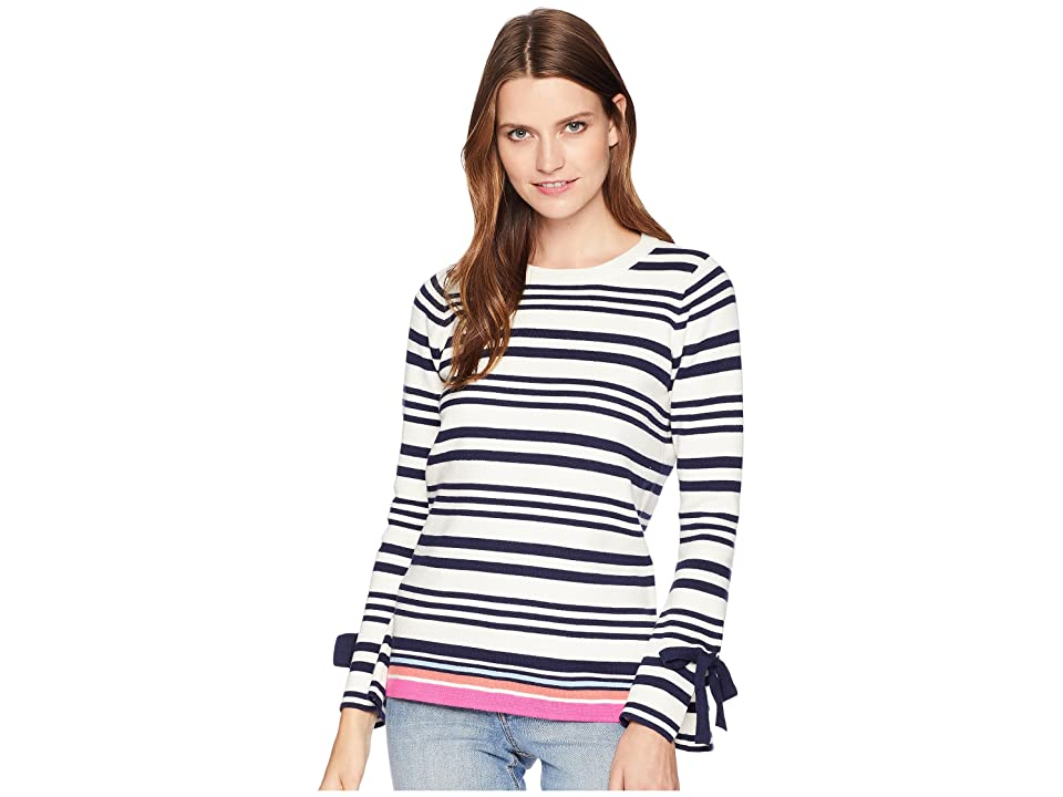 Joules Myanna Tie Sleeve Sweater (Bircham Stripe) Women