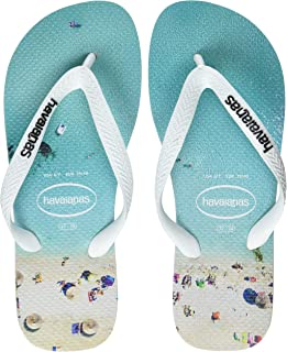 Havaianas Men's Hype Flip Flops, Navy Blue/Blue Star/White, 8/9 UK 43/44 EU
