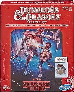 Hasbro Stranger Things ダンジョンズ&ドラゴンズ ロールプレイングゲーム スターターセット