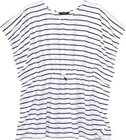 Polo Ralph Lauren Kids - Striped Cotton Cover-Up (Little Kids/Big Kids)