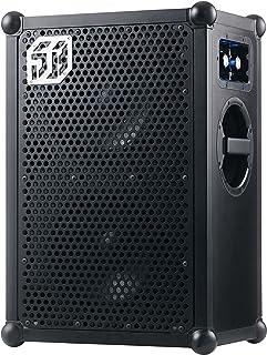 SOUNDBOKS 2 BLACK EDITION - Enceinte d'extérieur portative sans fil (Bluetooth) - Son puissant (122db) - Ultra-longue auto...