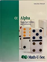 Alpha: Single-Digit Addition and Subtraction Instruction Manual