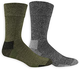 Men's Advanced Relief Blisterguard Casual Crew Socks-2 Pair Pack