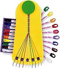 Choose Friendship, My Friendship Bracelet Maker, 20 Pre-Cut Threads (Craft Kit / Kids Jewelry Kit)