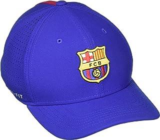 NIKE FC Barcelona AeroBill Classic 99 Adjustable Hat (Deep Royal Blue)  (OSFM) 485c3c18290f