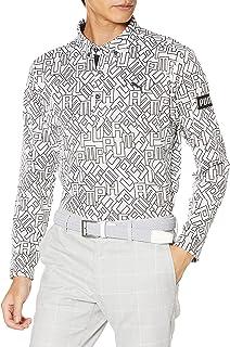 [プーマ] 長袖 ゴルフ ロゴ グラフィック LS ポロシャツ メンズ