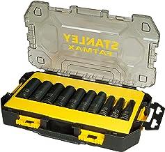 Stanley FatMax FMHT0-74720 mini pudełko do przechowywania kluczy nasadowych, długie, 17-częściowe).