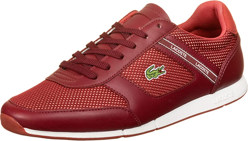 Lacoste menerva,scarpe sportive,sneakers per uomo,in pelle sintetica e tela 739CMA0015DR5