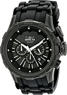 Men's 16974 I-Force Analog-Display Quartz Black Watch