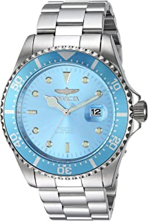 Invicta Men's Quartz Watch, Analog Display and Stainless Steel Strap 22051