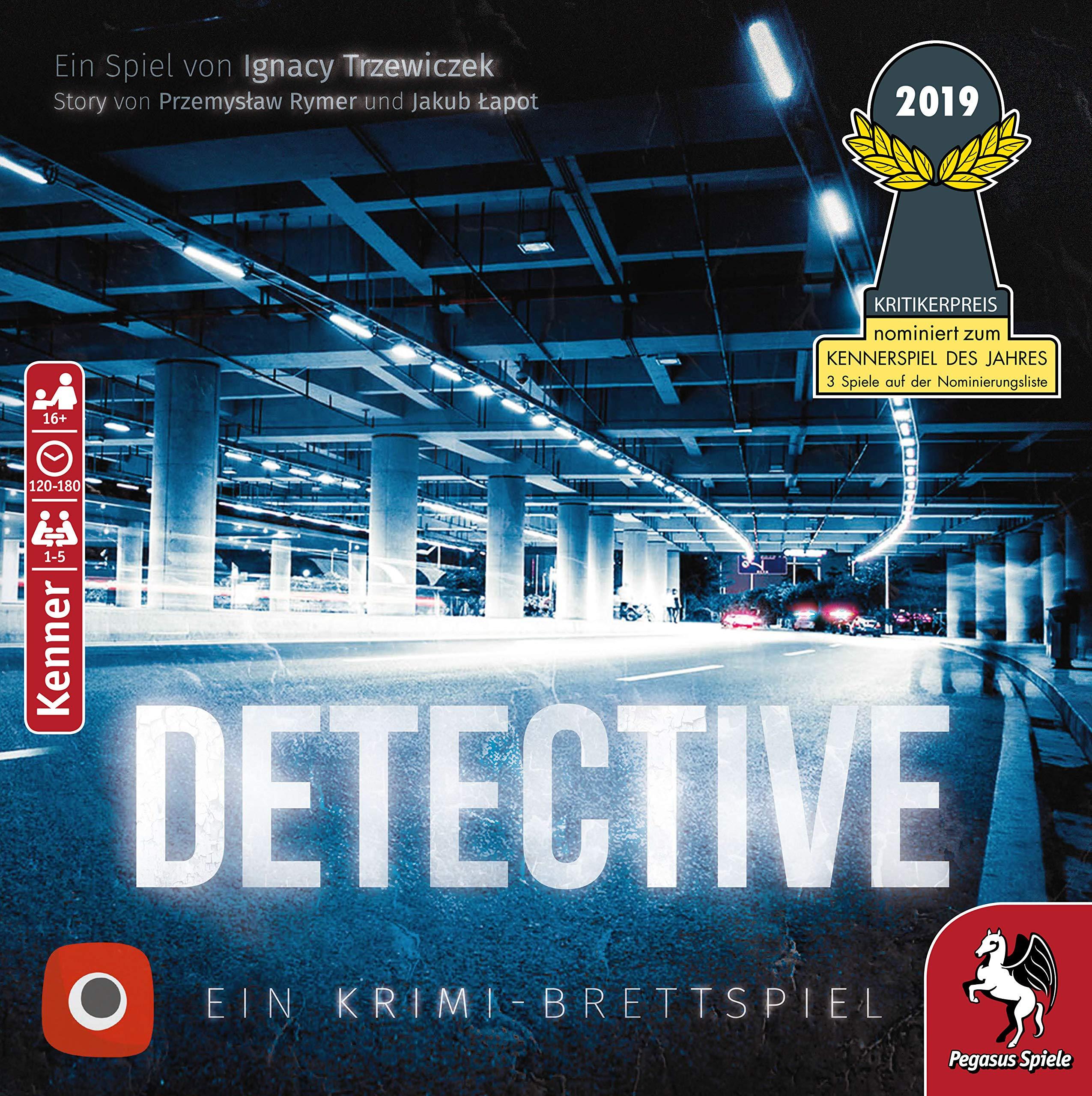 Portal Games 57505 Detective, Juego de Mesa , color/modelo surtido: Amazon.es: Juguetes y juegos