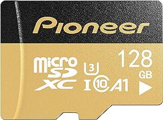 Pioneer 128GB microSD Premium with Adapter - C10, U3, A1, V30, 4K UHD Memory Card…