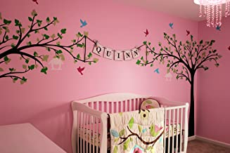 """Pop Decors """"Love Birds"""" Beautiful Wall Stickers for Kids Rooms"""