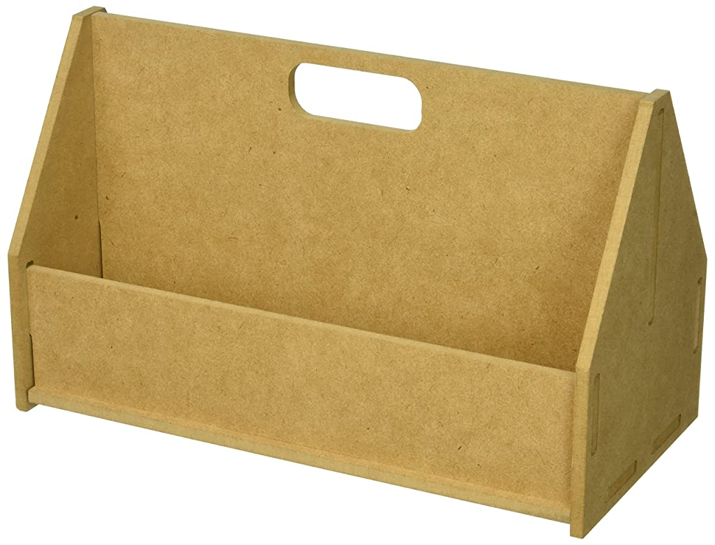 Kaisercraft SB2227 Beyond The Page MDF Tool Box, 11.25 by 5.5 by 7-Inch