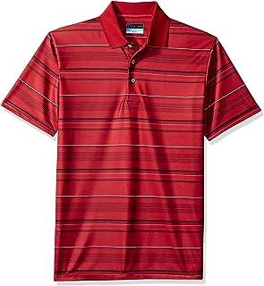 8d8b4ef0 Amazon.com: pga tour striped airflux polo shirt mens big tall pga ...