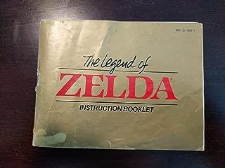 Legend of Zelda Instruction Booklet (NES Manual Only - NO GAME)