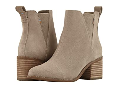 TOMS Esme (Desert Taupe Suede) Women