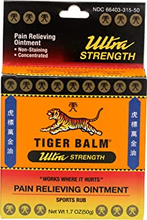 Tiger Balm, Topical Ultra Strength, 1.7 Ounce