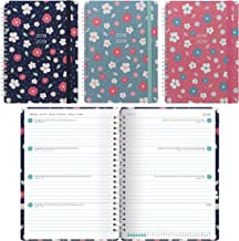 Letts 2018-2019 Floral, Weekly Academic Planner, A5 Week to View Diary, August to July, Assorted Designs, (C030645-19)