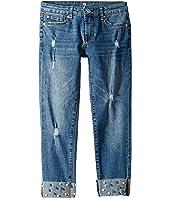 Josephina Stretch Denim Jeans in Nightfall (Big Kids)