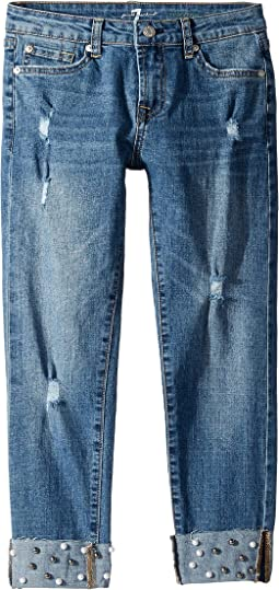 Josephina Stretch Denim Jeans in Nightfall (Big Kids)