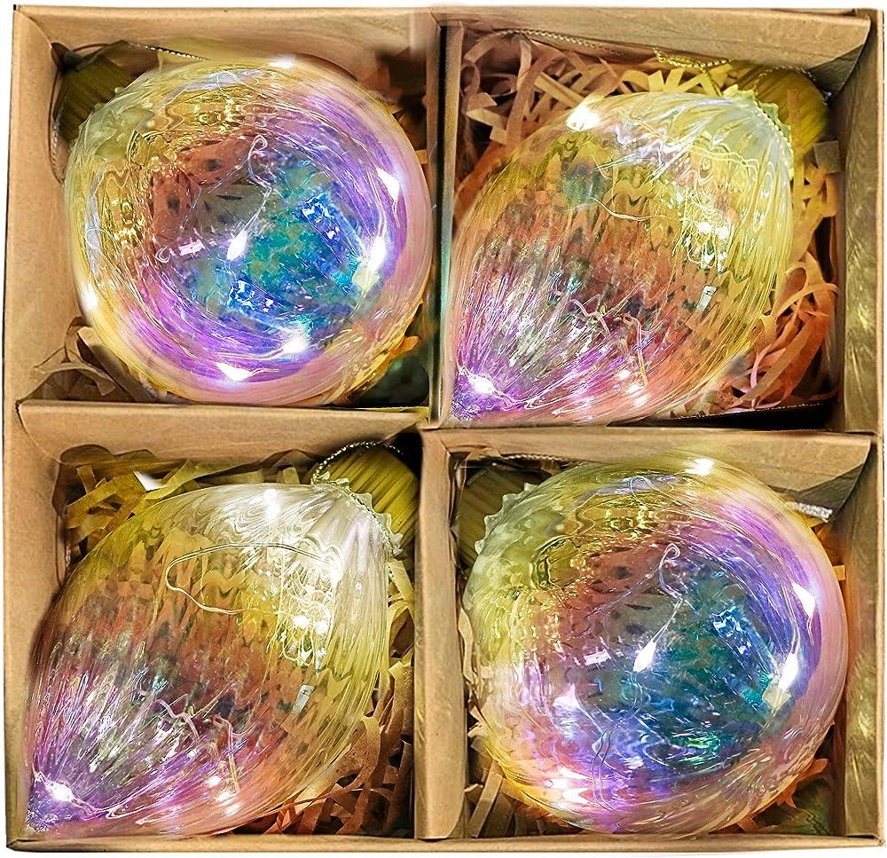 Valery madelyn palle di natale vetro EG0107-0082