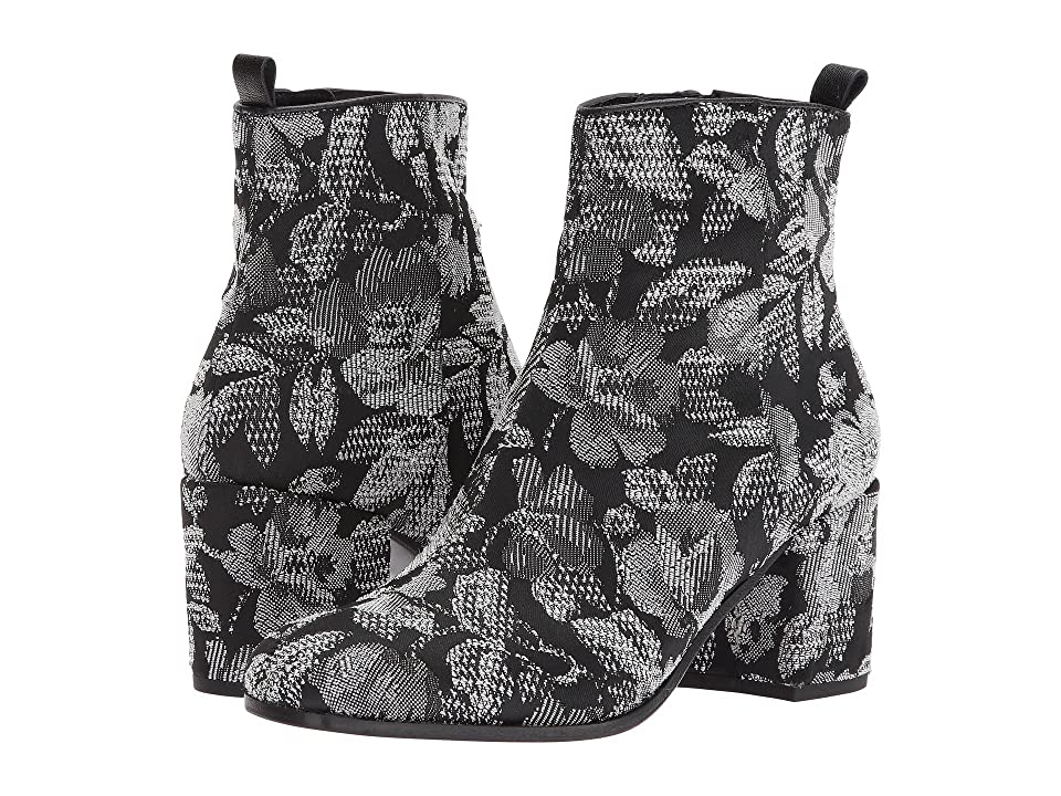 Kennel & Schmenger Kiko Embroidered Boot (Black Flower Stitch) Women
