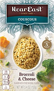 Near East Couscous Mix, Broccoli & Cheese 5.4oz.(Pack of 12 )