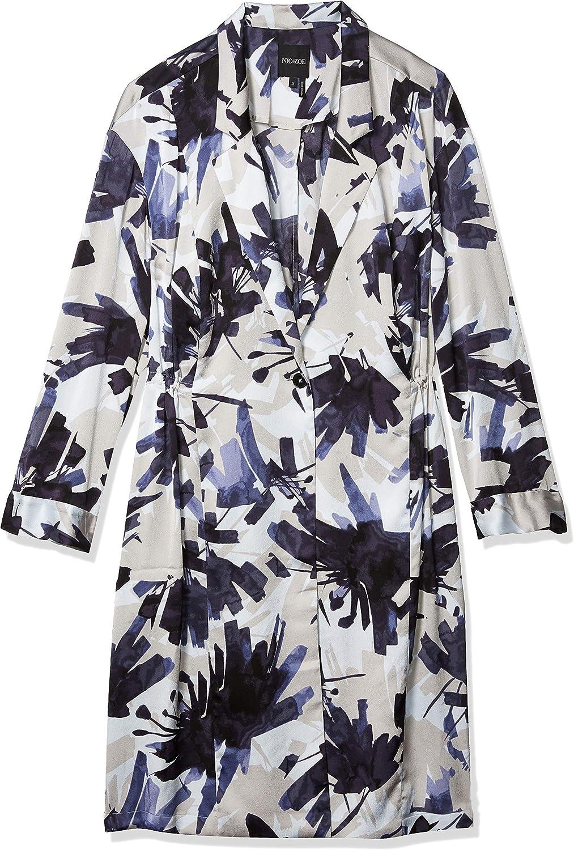 NIC+ZOE Women's Inky Flowers Jacket