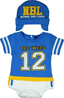 Sozo Baby-Boys Newborn Football Bodysuit and Cap Set
