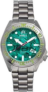 Shield - Reloj de pulsera Atlantis Abalone con fecha